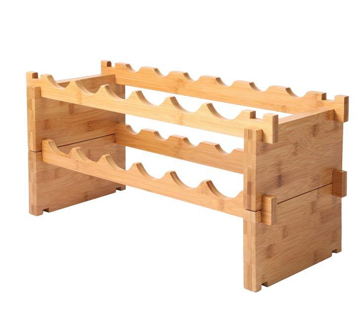 Stackable Wine Storage Shelf