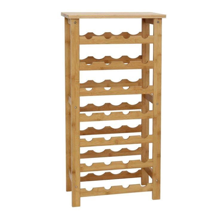 Wine Bottle Dispaly Shelf