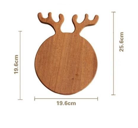 Wooden Chopping Block Cutting Board Set