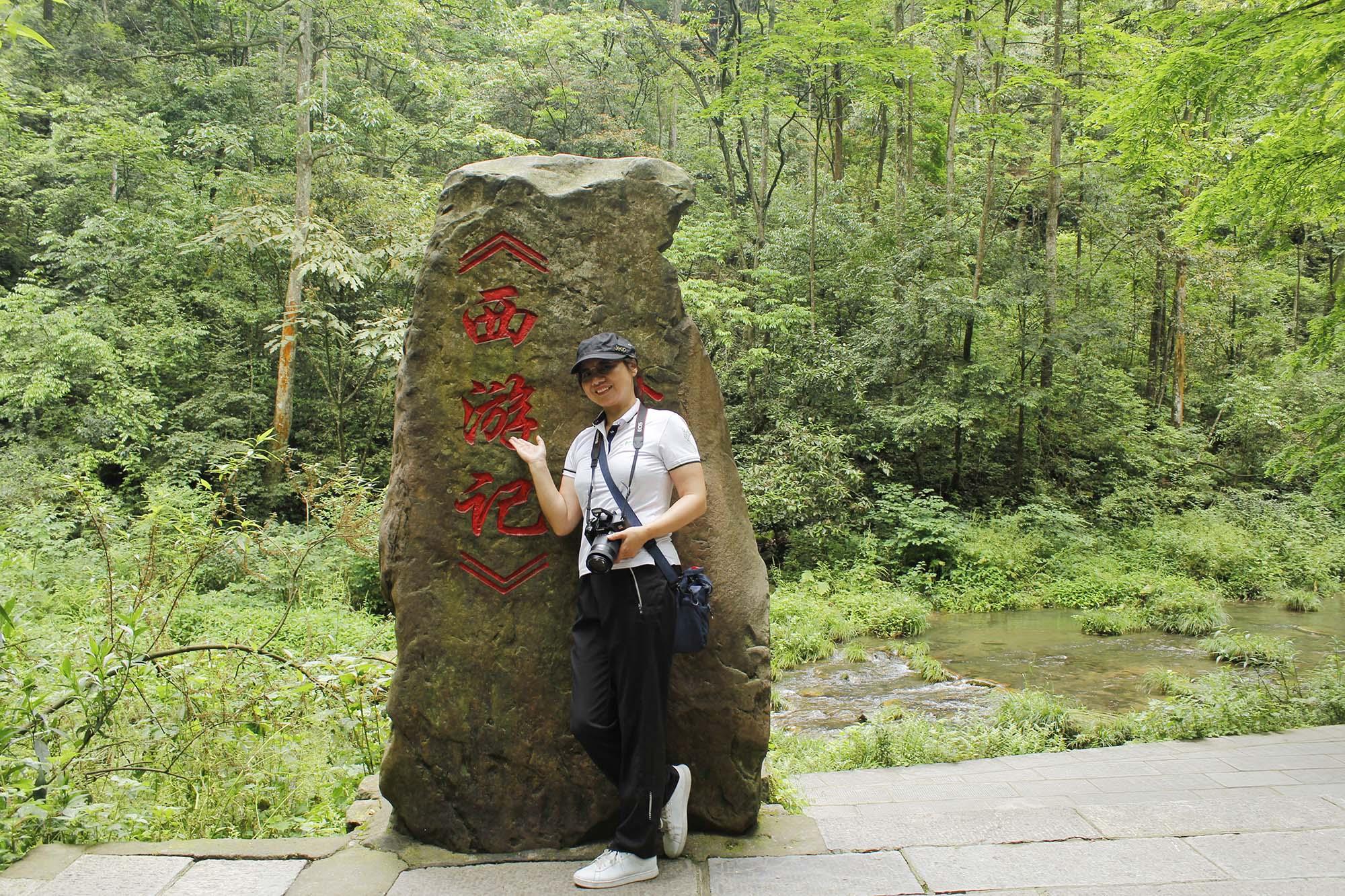 Zhangjiajie has beautiful scenery