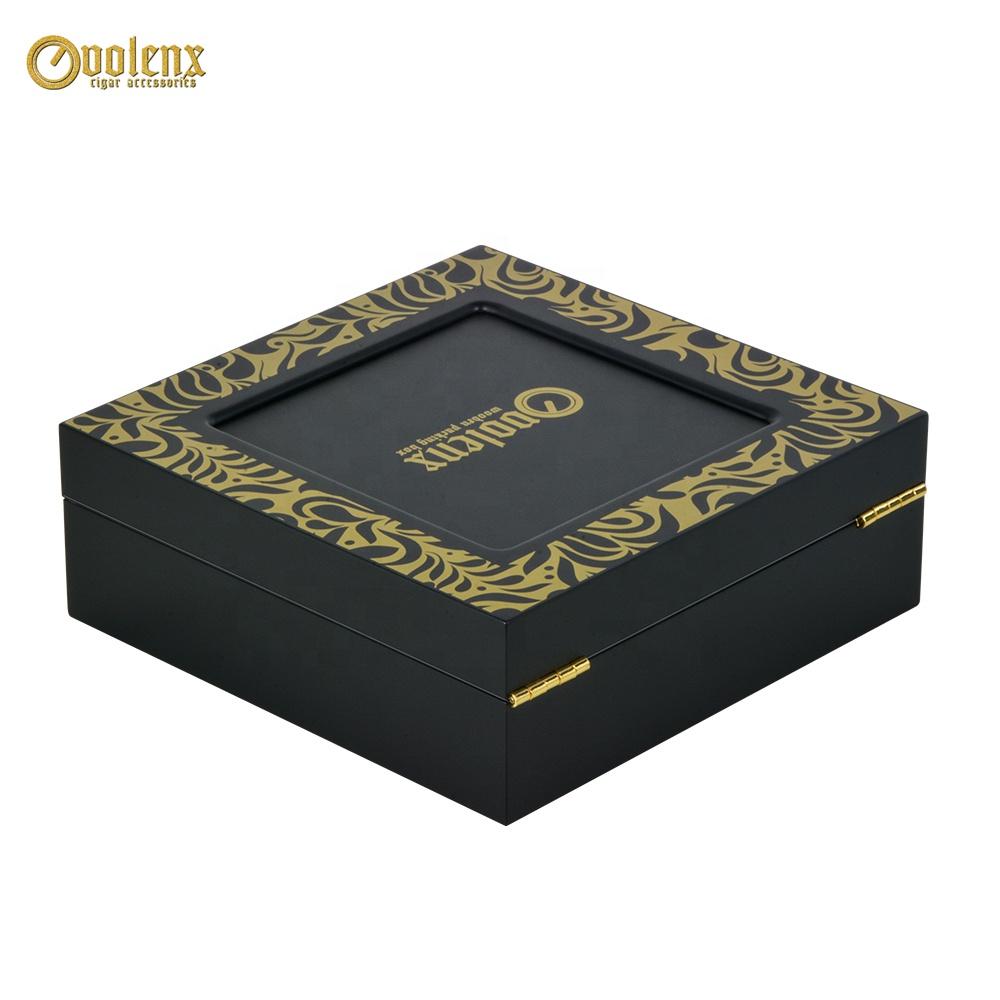 Black-Custom-Logo-Wooden-Luxury-Perfume-Box