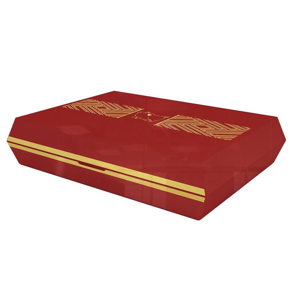 Volenx-Branded-9CT-Red-Empty-Wooden-Cigar