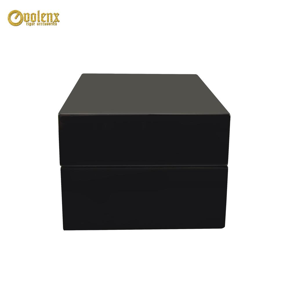 High Glossy Luxury Black Elegant Ramadan Perfume Wood Box 2