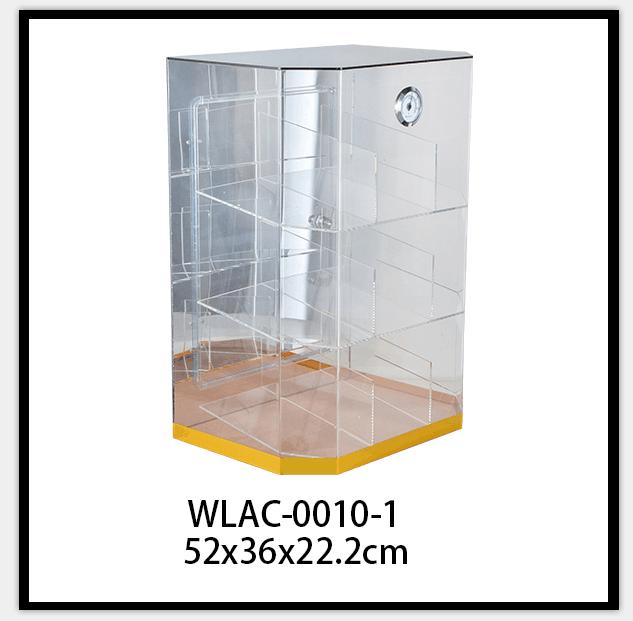 Custom Acrylic Cigar Display Cabinet with Hygrometer 8