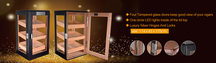 High Quality cigar cabinet humidor