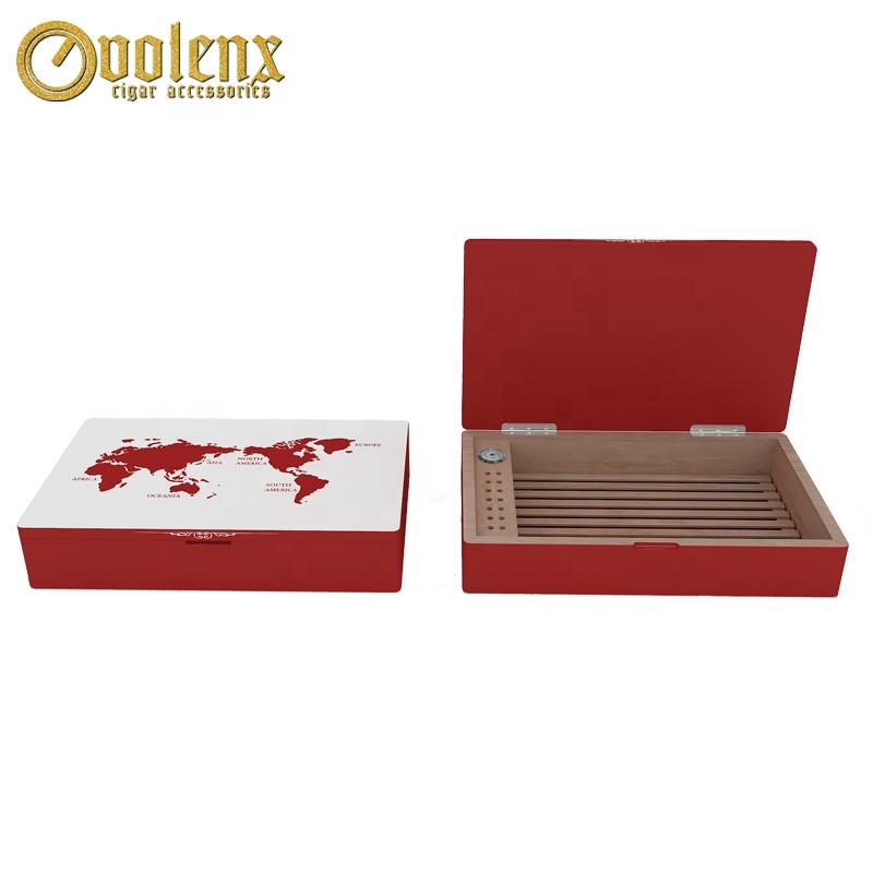 Luxury Spanish Cedar Empty Wooden Cigar Display Box
