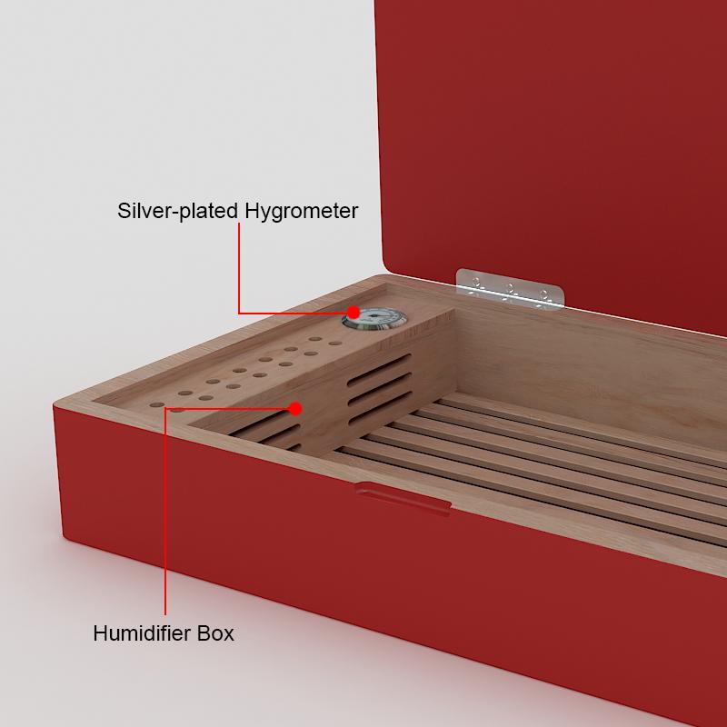 wooden cigar display box 3