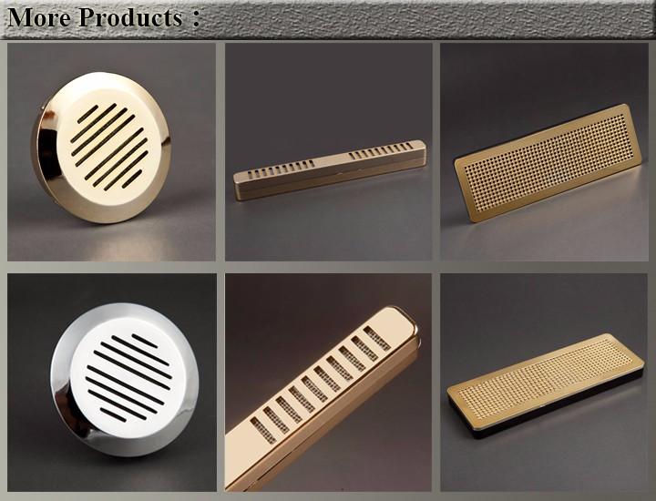 Premium Grade Volenx Silver Round Cigar Hygrometer For Humidor 14