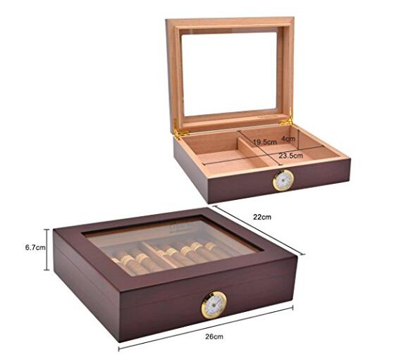 Wooden Cigar Box 2