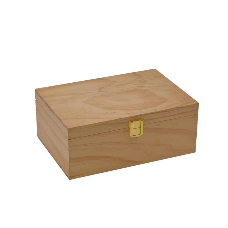 Wholesale Custom Logo Antique Bamboo Tea Box Manufacturer 6