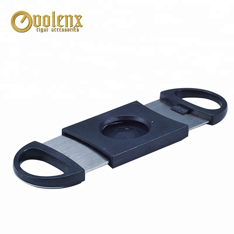 Wholesale Custom Logo Stainless Steel Cigar Cutter Factory