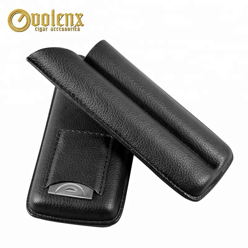 Custom-Portable-Luxury-Travel-Leather-Cigar-Case