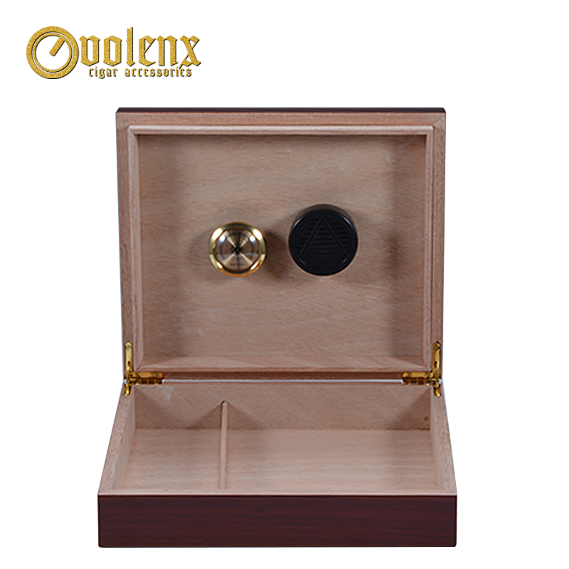 Eco-friendly-MDF-Wooden-Humidor-With-Gift