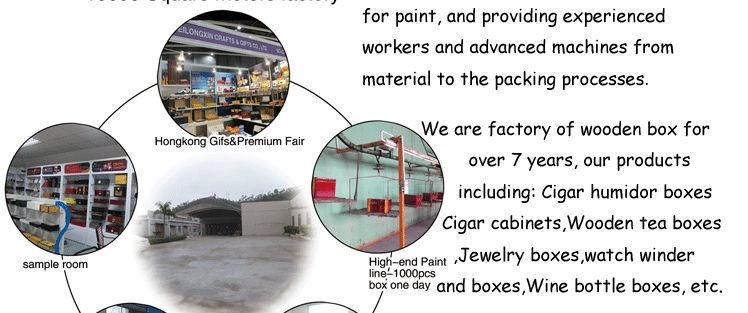 new products Custom high quality luxury carbon fiber cigar box wholesale 15