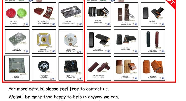 new products Custom high quality luxury carbon fiber cigar box wholesale 29