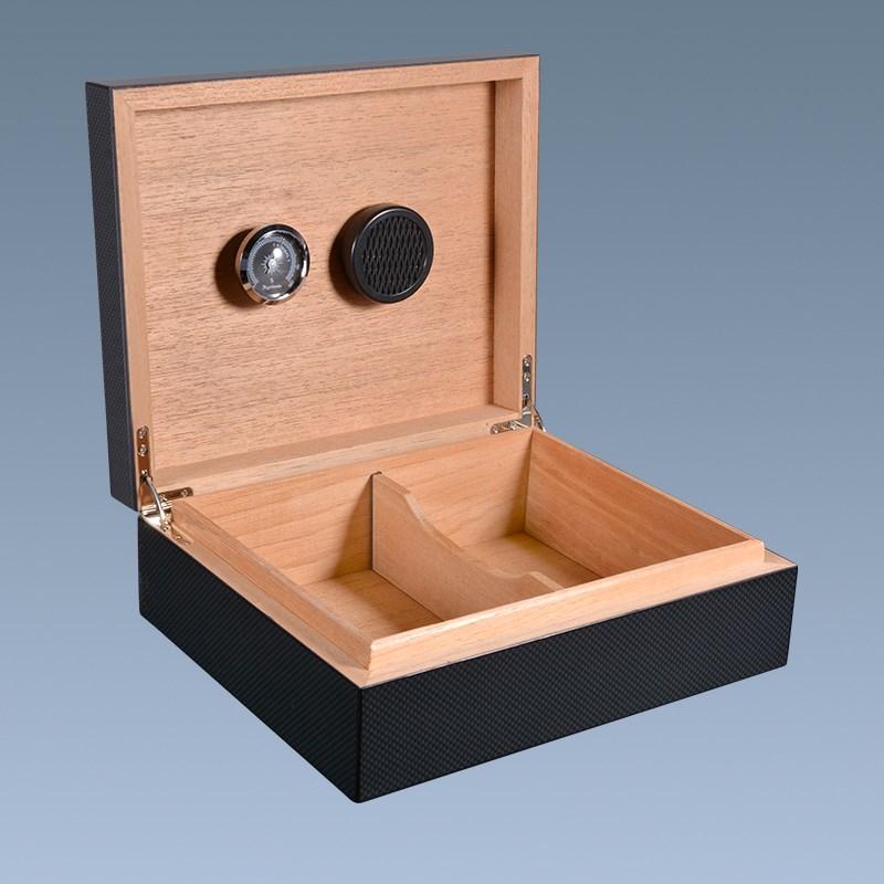 new products Custom high quality luxury carbon fiber cigar box wholesale