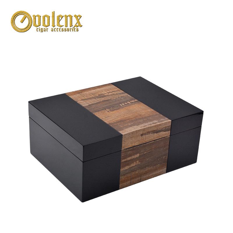 New-PVC-woodgrain-design-matt-humidor-parts