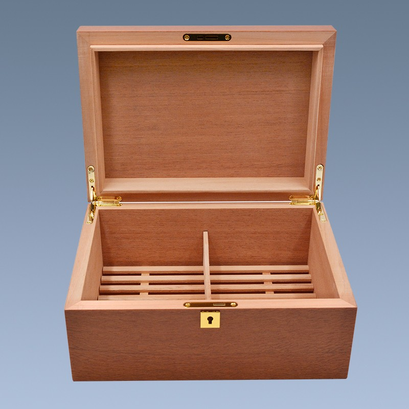 High Quality Cigar Box Branded Wooden Cigar Box With Humidifier