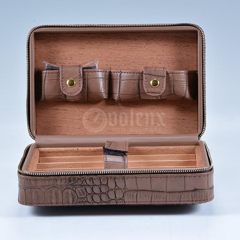 spanish cedar wood humidor hold 50 cigars 17