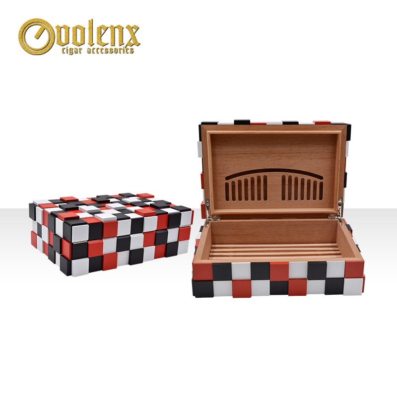 Luxury design packing box for sale made in China cigar humidor