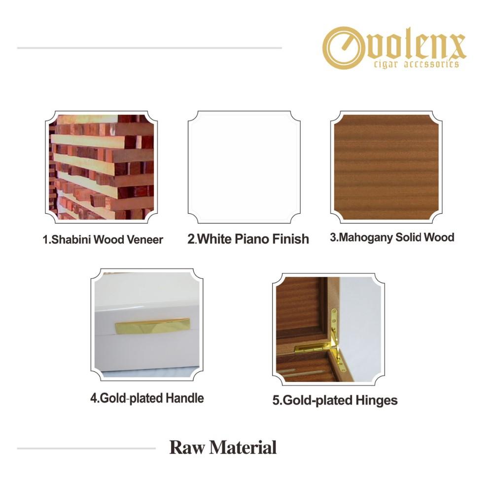 Wooden Cigar Box WLH-0154 Details 13