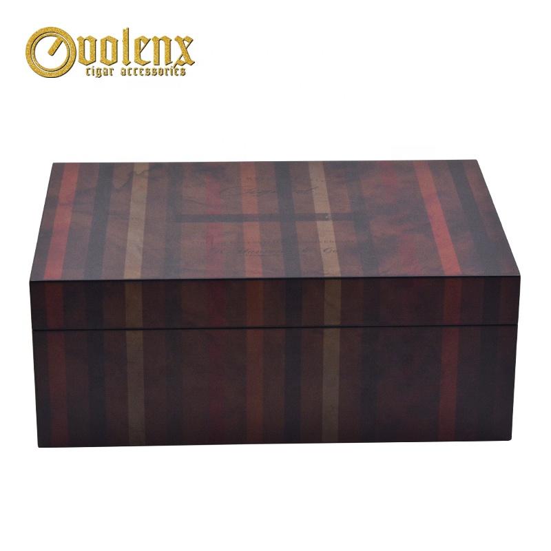 New-Custom-Luxury-Travel-Humidor-Wooden-Cedar