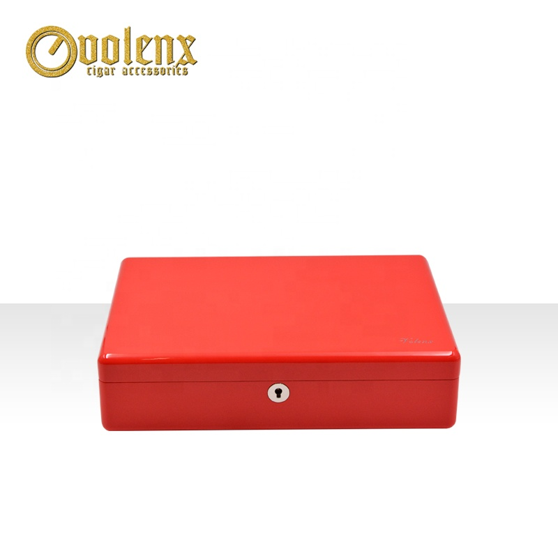 Custom-Red-Piano-Lacquer-Wooden-Cigar-Humidor