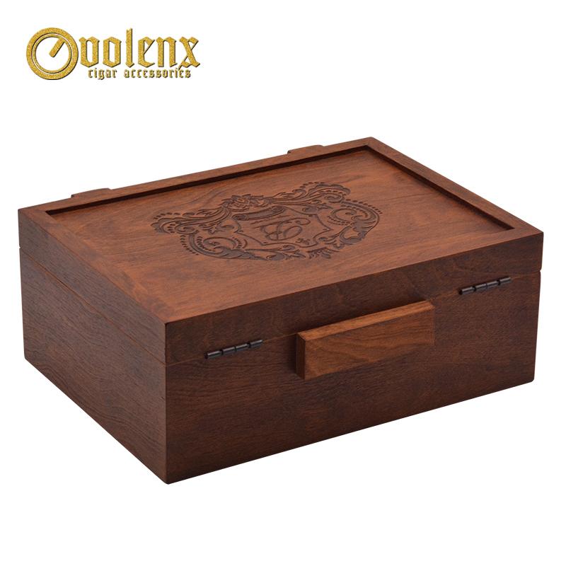 coffee bass wood cigar boxes 6