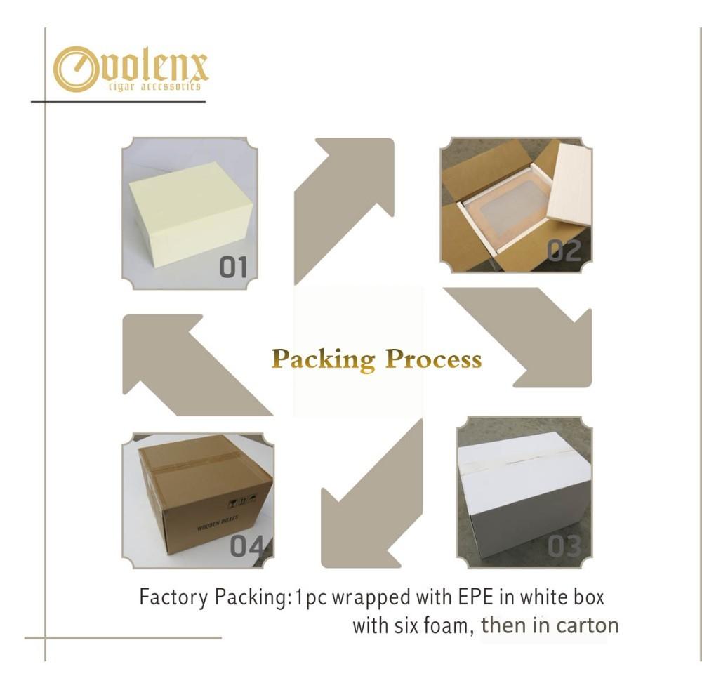 Custom Coffee Bass Wood Cigar Boxes Manufacturer