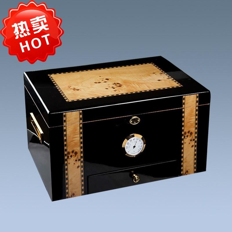 wooden cigar humidor box WLH-0160 Details 8
