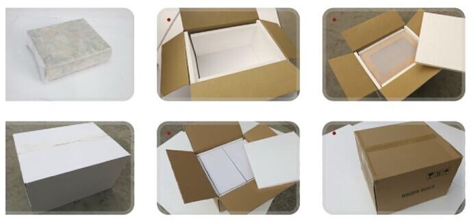 Wholesale Black And White Matt Finished Wooden Humidor Box