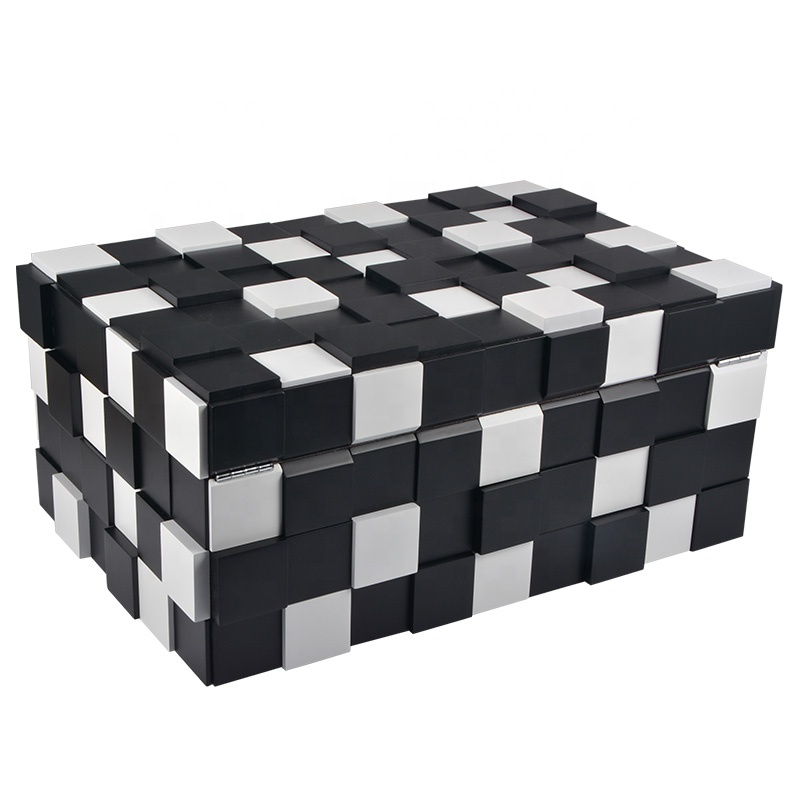 Wholesale-Black-and-White-Matt-Finished-Wooden