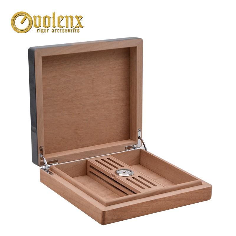 Luxury Wood Blank Cigar Box Cedar Wooden Cigar Box For Sale 5
