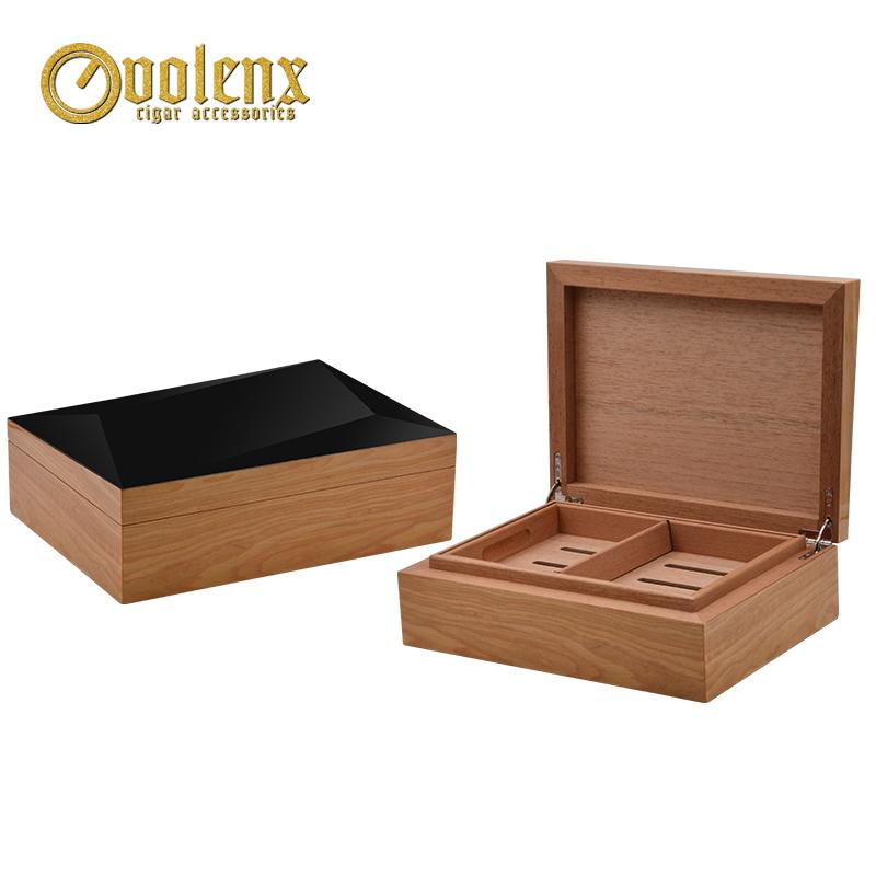 New Custom Luxury Travel Humidor Wooden Cedar Cigar humidor