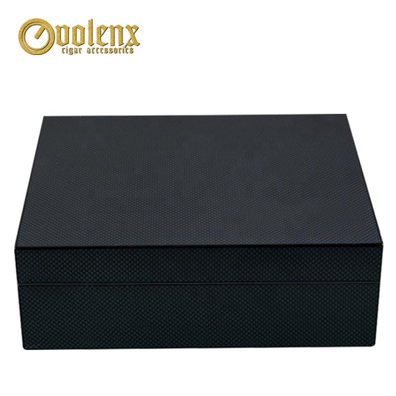 Custom-Black-Spanish-Cedar-Wood-Cigar-Box