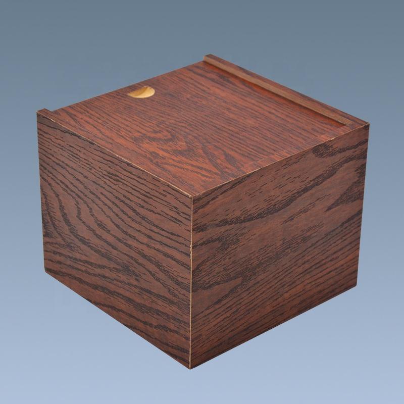 Wholesale Cheap PVC paper empty cigar box wood cigar humidor 5