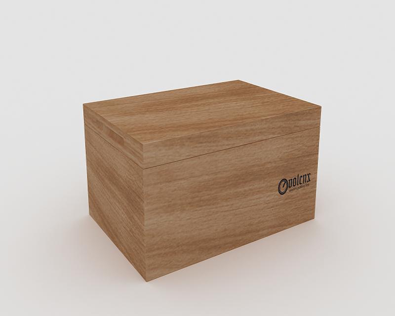 New Design Empty Wooden Cigar Storage Box