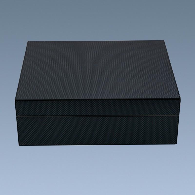 Wholesale-Custom-Luxury-Carbon-Fiber-Cigar-Humidor