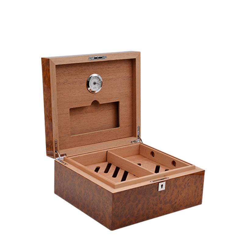 Wholesale Custom Luxury Carbon Fiber Cigar Humidor 11