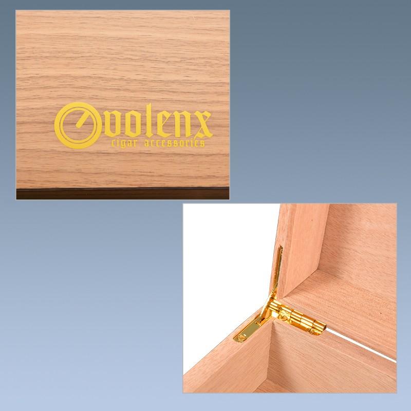 The New Humidor Cigar Box Wooden Handmade Luxury Humidor Solution 9
