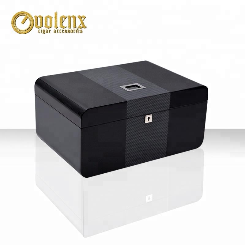 Custom Wooden Luxury High Gloss Cigar Gift Box