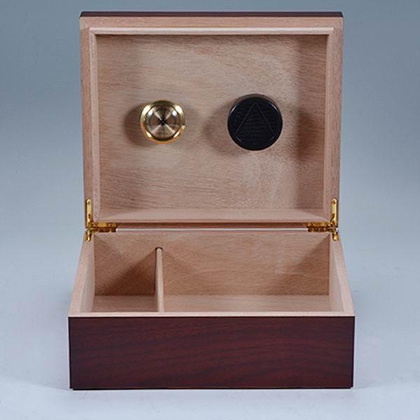 Custom Mahogany Veneer Wooden  222*133*45mm  for Luxury Cigar Box 5