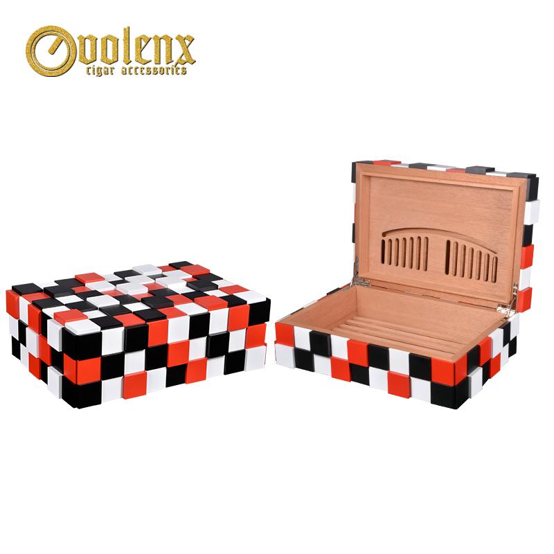 Hot Sale Luxury Wooden Cigar Storage Box