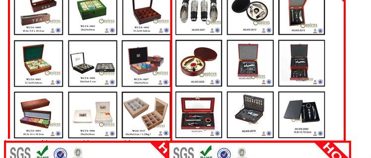 cigar box wood WLHG-0038 Details 27