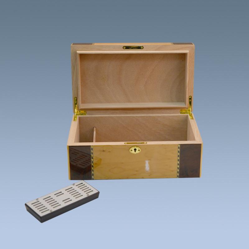 Wooden Savoy Bass Wood Packing Box Humidor 50 Cigar Humidor