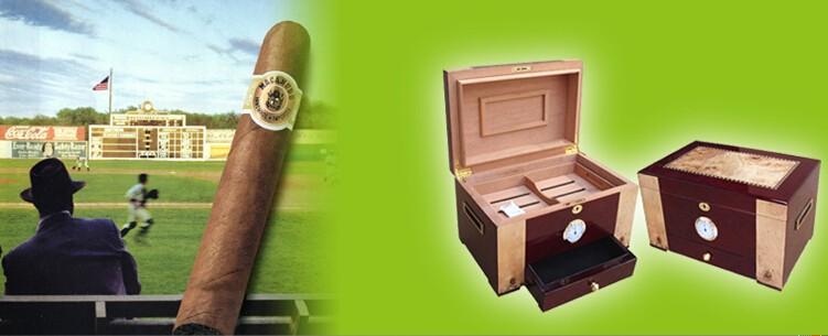 Cigar Humidor wooden box WLH- 0246cigar case gift set Details