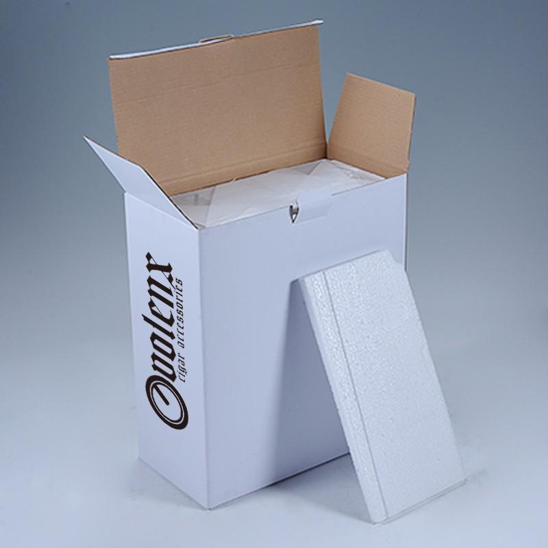 Wholesale Matt High Quality Humidifier Humidor Wooden Spanish Cedar Cigar Box 11