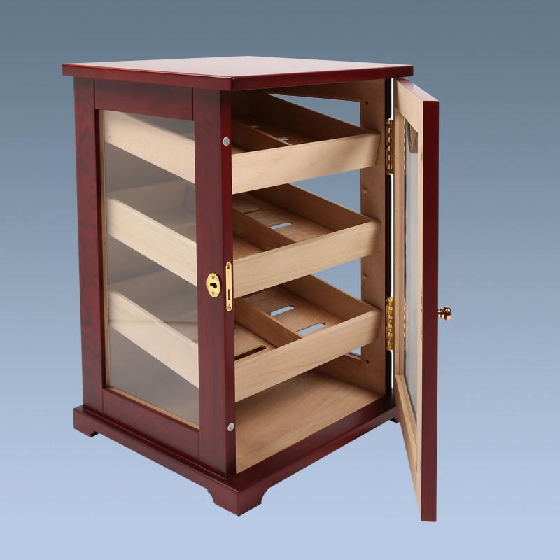 High Quality Handmade Wooden Cigar Humidors With Door