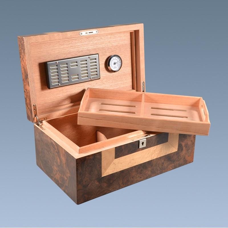 Custom Modern Luxury Empty Wooden Cigar Display Box 3