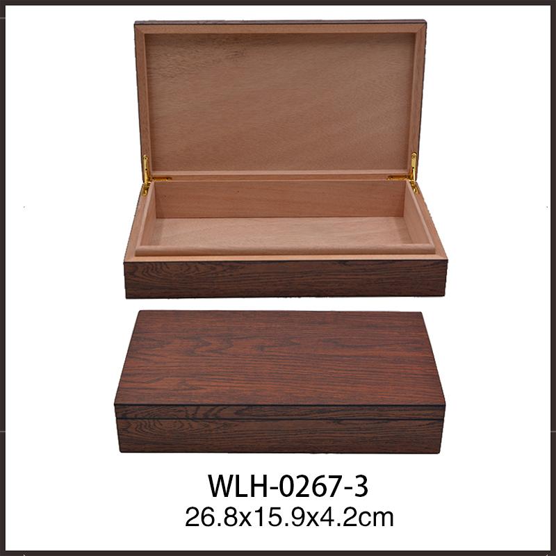 Wholesale Best Design Empty Wooden Packaging Cigar Box 3